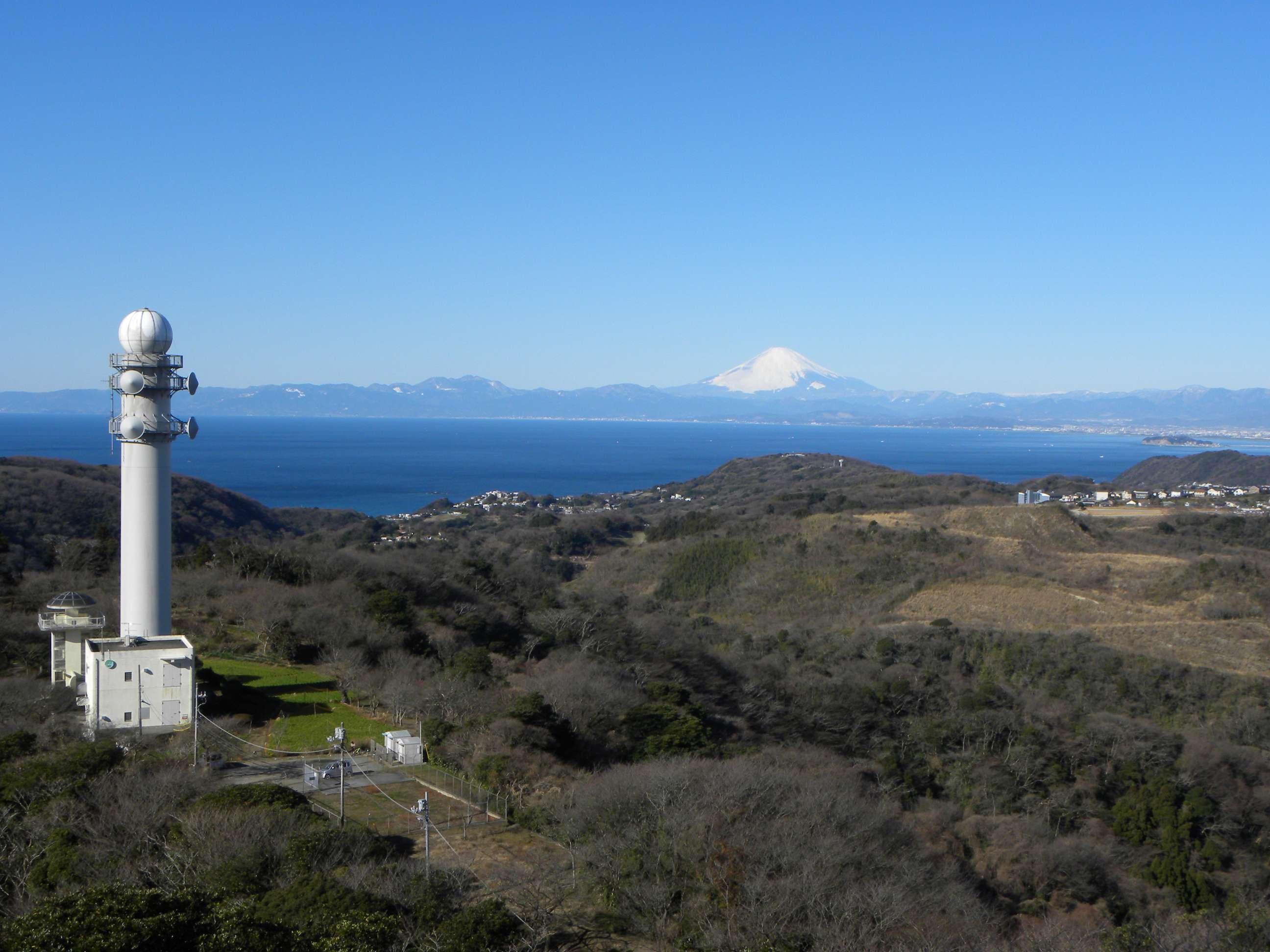 大楠山からの富士山 ダイヤモン...